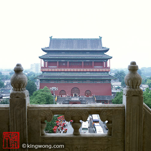 北京市 -- 鼓楼 Beijing City --  Bell Tower