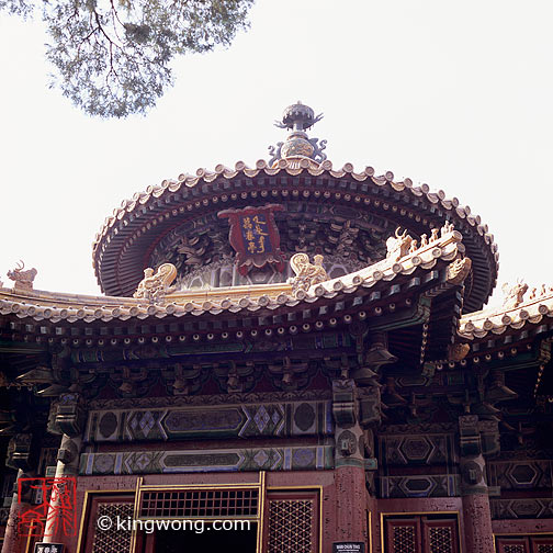 故宫--万春亭 Gugong(The Palace Museum)--Longevity Pavillion