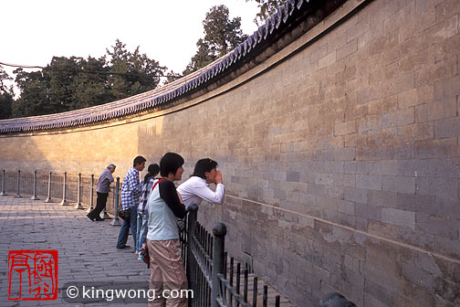 天坛公园 -- 回音壁 Tiantan (Temple of Heaven) Park
