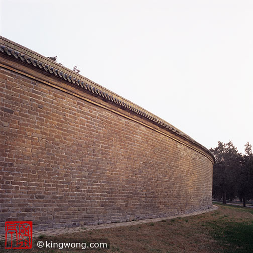 天坛公园 -- 回音壁 Tiantan (Temple of Heaven) Park --Echo Wall