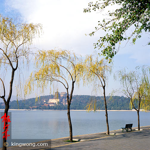 昆明湖和万寿山景 Kunming Lake and Longevity Hill scene