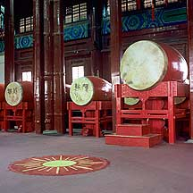 Picture of 北京市 -- 鼓楼的鼓 Beijing City -- Drums