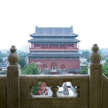 Picture of 北京市 -- 鼓楼 Beijing City --  Bell Tower