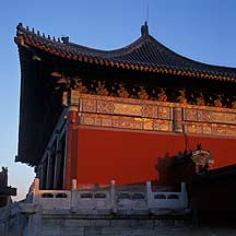 Picture of 天坛--祈年门 Gate to the Hall