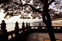 Picture of 昆明湖边一角 A view of the Kunming Lake