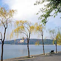 Picture of 昆明湖和万寿山景 Kunming Lake and Longevity Hill scene