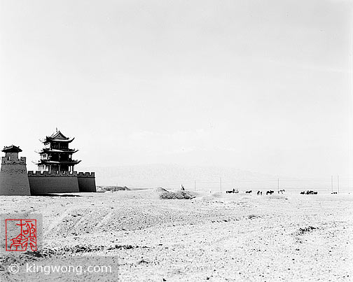 嘉峪关 - 西关楼 Jiayuguan (Jiayu Pass) - West Tower and Gate