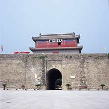 Picture of ɽ���� - ���µ�һ�� (����) Shanhaiguan Pass - First Pass Gate Tower (Zhendongmen Gate)