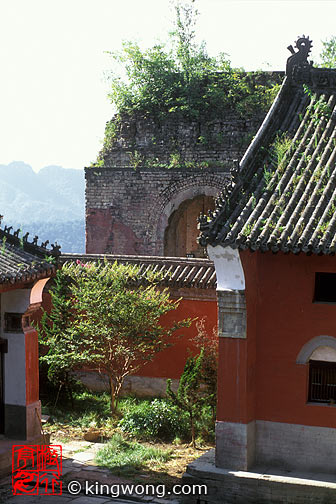 武当山 - 庙 Wudangshan ( Wudang Mountains ) - Temple