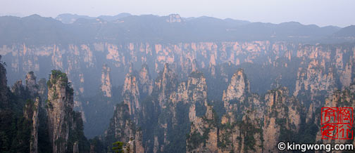 天子山 Tianzishan (Tianzi Mountains)