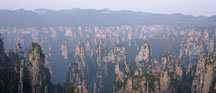 ����ɽͼ Tianzi Shan Mountains image