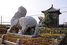 Picture of 南京六朝石刻--狮子 Nanjing Six Dynasties Stone Beasts--Lio