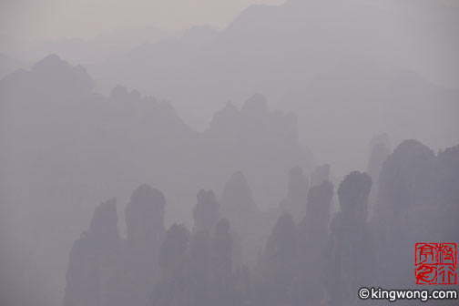 天子山 Tianzi Mountains