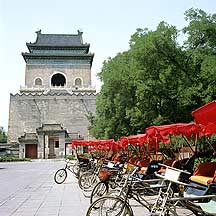 Picture of 北京市 钟楼 Beijing City - Bell Tower