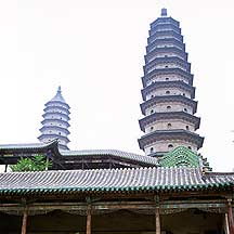 Picture of 太原市 双塔 Taiyuan City - Twin Pagoda