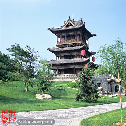 常家庄园 - 观稼阁 Chang Family's Compound - Guanjiage Pavillion