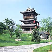 Picture of 常家庄园 - 观稼阁 Chang Family's Compound - Guanjiage Pavillion