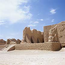 Picture of �߲�ʳ� Gaochang Ruins - Palace area  remains