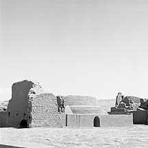 Picture of 高昌故城 Gaochang Ruins-adobe building