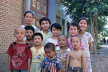 Picture of ��³�� - ������ĺ��� Tulufan (Turfan) - Erabaoxiang Children