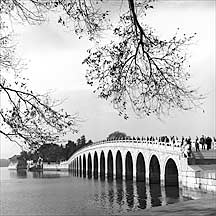 十七孔桥 seventeen-arch bridge in the Summer Palace