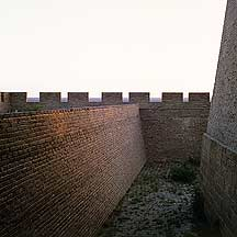 镇北台 Zhenbeitai Tower Wall scene